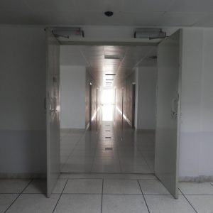 double swing door