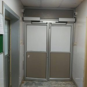 swing automatic door